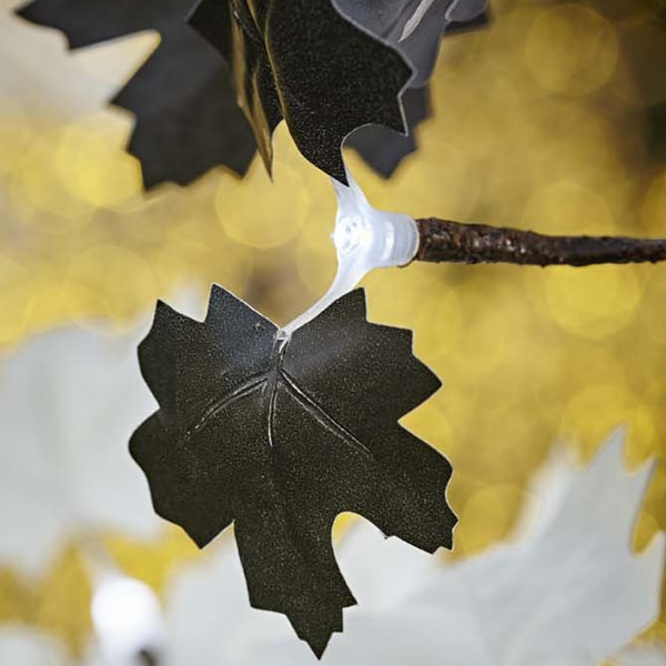 black led maple tree