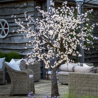 2m LED cherry tree