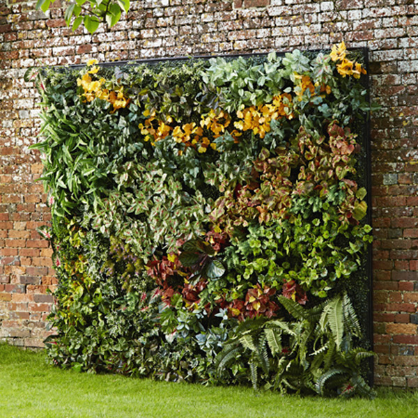 faux-living-wall