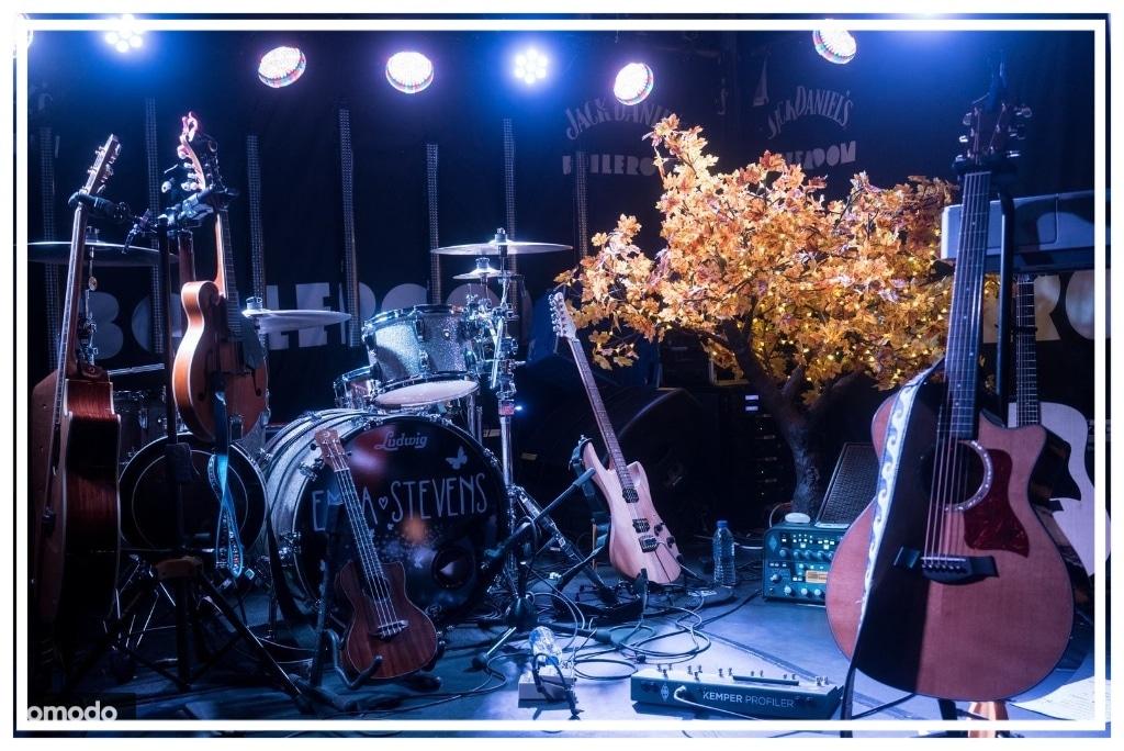 Twilight Trees' LED maple tree on tour with Emma Stevens