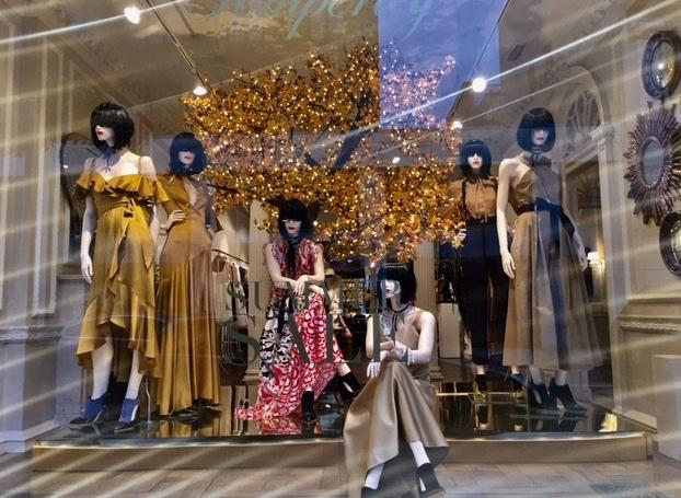 Temperley shop window display
