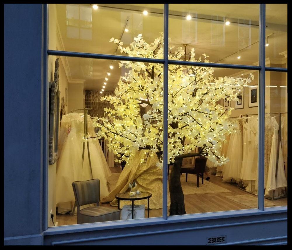 Sassi Holford's bridal shop