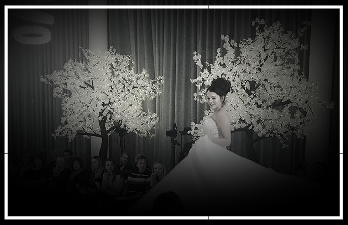 Maple Trees by Twilight Trees at a wedding catwalk show