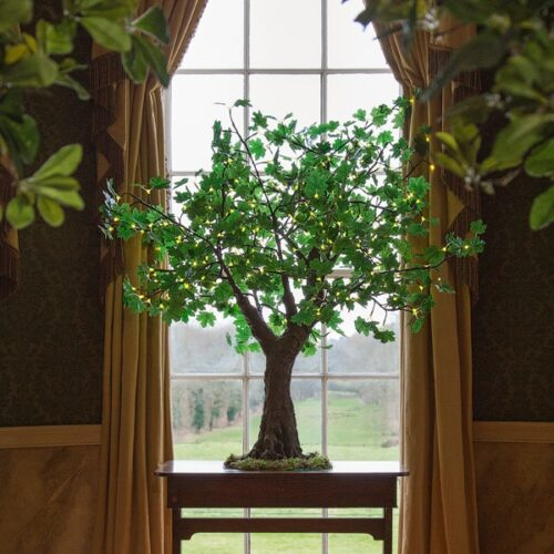 1.5m green LED maple tree by Twilight Trees