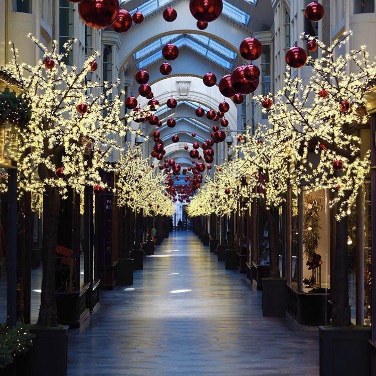 Twilight Trees light up Burlington Arcade's Christmas display