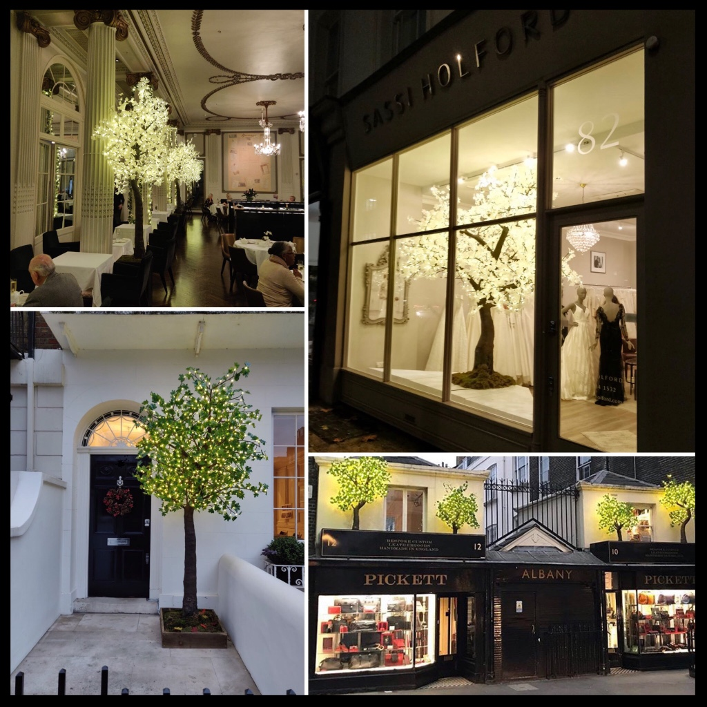 A selection of Twilight Trees installations