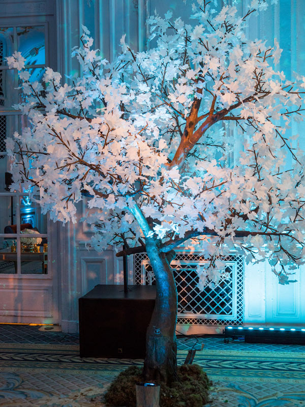 Twilight Trees' white maple LED tree