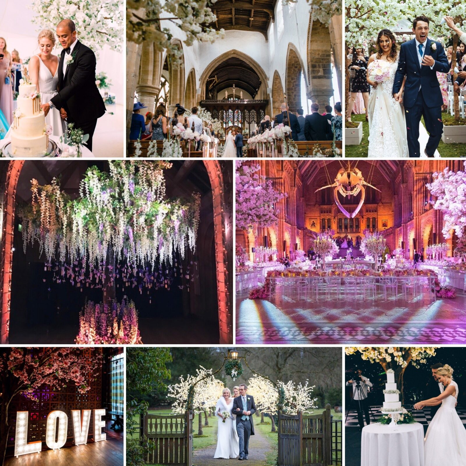 A few ways Twilight Trees have made perfect wedding trees