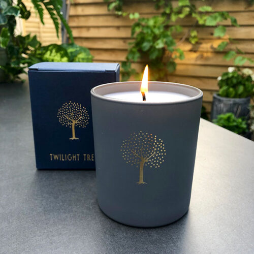Twilight Trees candle