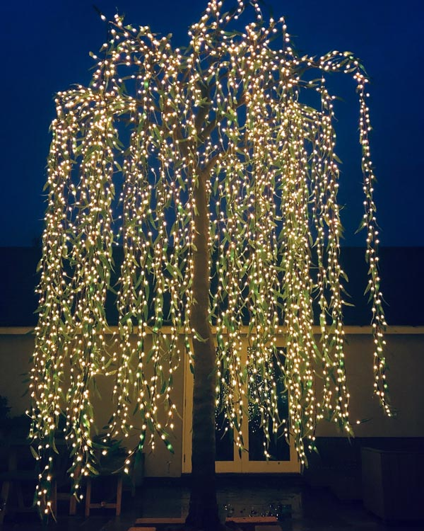 LED party tree by Twilight Trees