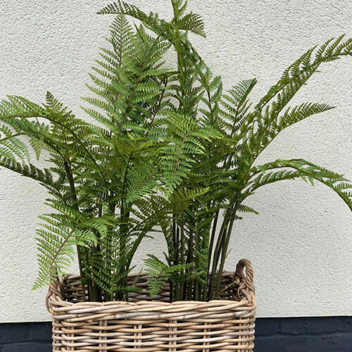 Large Faux Fern by Twilight Trees